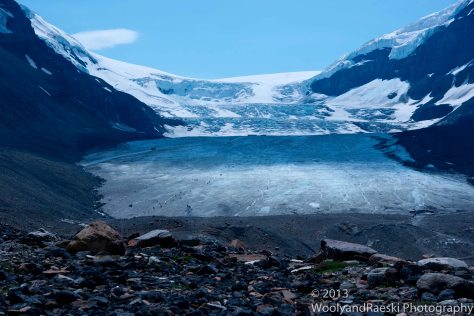 This glacier used to be 2 miles longer.