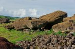 Resting moai