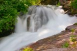 Water roars downhill in Glacier Natl. Park.