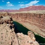 On the edge of Marble Canyon