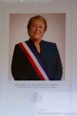 The current resident - Michelle Bachelet Jeria.