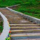Love Stairs leading to Parque de Amor