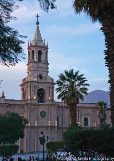 The Basilica of Arequipa