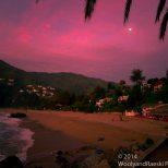 Zapallar Sunset and Moon