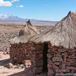 Peru claims these outhouses are at a higher elevation than any others in the world. The elevation is 4910 meters or 16,109 feet.