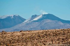 A closer image of Sabancaya volcano.